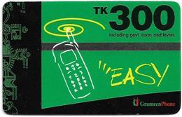 Bangladesh - Grameen Phone - Mobile Green, GSM Refill 300৳, Used - Bangladesh