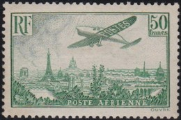 France  .   Yvert  .    PA  14 (2 Scans)      .   *     .     Neuf Avec Charniere  .  /   .  Mint-hinged - Airmail