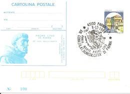 ITALIA - 1984 PARMA XIII Convegno Fil. - 60° Anniv. Morte Di Padre LINO Su Cartolina Postale CP Sovrastampata - 6. 1946-.. Repubblica