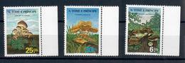 SAO TOME' E PRINCIPE  1986  - FLORA FUNGHI - MNH ** - Sao Tomé E Principe