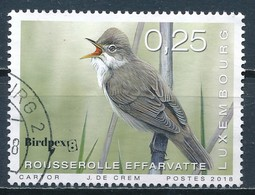°°° LUXEMBOURG - REED WARBLER - 2018 °°° - Usati
