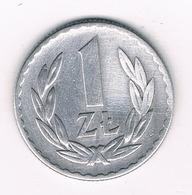 1 ZLOTY 1949 POLEN /6057/ - Poland