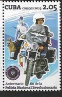 POLICE , 2019, MNH, POLICE, POLICE DOGS, 1v - Police - Gendarmerie