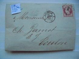 Francia. Marcophilie. YT 17Ab. Description. 3 Photos - Postmark Collection (Covers)