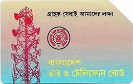 Bangladesh - Telephone Shilpa Sangstha (Urmet) - Radio Station (Big Magnetic Band), 1996, 100Units, Used - Bangladesh