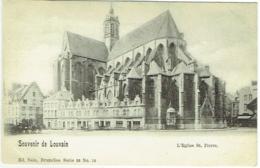Leuven. Louvain. L'Eglise St. Pierre. Souvenir De Louvain. - Leuven