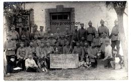 Landsturm Infanterie Ersatz Bataillon Neuruppin 3, 41., Warschau, Militär Gruppenfoto, 1. Weltkrieg, 1914/15 - Weltkrieg 1914-18