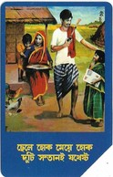 Bangladesh - Telephone Shilpa Sangstha (Urmet) - Rural School, 1994, 50Units, 225.000ex, Used - Bangladesh
