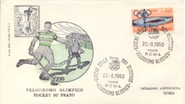 Italia Italy 1960 Annullo Speciale Su Busta 26 Agosto Roma Velodromo Olimpico XVII Giochi Olimpici 17th Olympic Games - Estate 1960: Roma