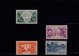 Côte D'Ivoire 1931 N° 84 à 87 Timbres Neufs * Avec Charnière 4 Valeurs - Côte-d'Ivoire (1892-1944)