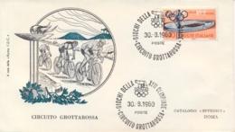 Italia Italy 1960 Annullo Speciale Su Busta 30 Agosto Roma Circuito Grottarossa XVII Giochi Olimpici 17th Olympic Games - Estate 1960: Roma