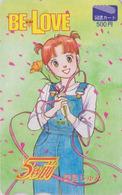 Carte Prépayée Japon - MANGA - BE LOVE - Japan Prepaid Card - BD Comics Tosho Karte - 11555 - BD