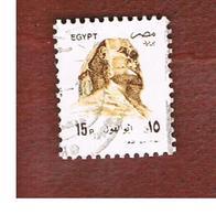EGITTO (EGYPT) - SG 1866 - 1993 SPHINX (18X22)  - USED ° - Egitto