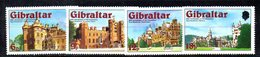 GIBILTERRA 1978 , 25mo Regno  Serie N. 372/375  MNH  *** - Gibilterra