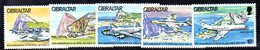 GIBILTERRA 1978 , Royal Air Force  Serie N. 379/383  MNH  *** - Gibilterra