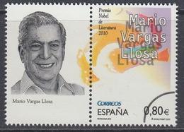 Spain 2011 - Personalities: Mario Varga Llosa, Nobel Prize Winner In Literature - Specimen ** MNH - 1931-Tegenwoordig: 2de Rep. - ...Juan Carlos I