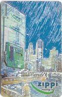 Brunei - Zippi (Chip) - Payphone And Modern City, 03.2001, 10B$, Used - Brunei