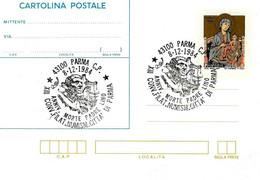 ITALIA - 1984 PARMA XIII Convegno Fil. - 60° Anniv. Morte Di Padre LINO Su Cartolina Postale CP Natale (CIMABUE) - Altri