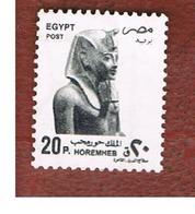 EGITTO (EGYPT) - SG 2022  - 1997 ART WORKS:  HOREMHEB  - USED ° - Egitto