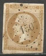 FRANCE - Oblitération Petits Chiffres LP 1507 HENRICHEMONT (Cher) - Marcofilie (losse Zegels)