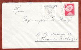 Brief, Erdefunkstelle, MS Schuetzenfest Hannover, 1977 (77625) - BRD
