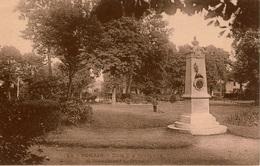 Cpa 02 BOHAIN (-en- VERMANDOIS) Bois Des Berceaux Et Monument J.Lefevre , Colombophile Fusillé Par Les Allemands 1914 - Otros Municipios