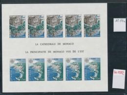 Monaco Block  Cept 1978  ** GESCHNITTEN !   (zu1592  ) Siehe Scan - Blocks & Sheetlets