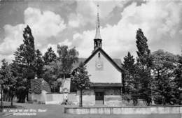 "0690 ""ST. JAKOB AN DER BIRS - BASEL - SCHLACHTKAPELLE"" CART. ILL. ORIG. SPED 1950. - BS Bâle-Ville"