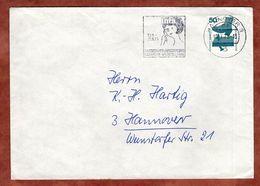 Brief, Unfallverhuetung, MS Infa Hausfrauen-Ausstellung Hannover, 1975 (77626) - BRD
