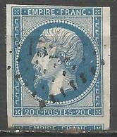 FRANCE - Oblitération Petits Chiffres LP 1522 HONDSCHOOTE (Nord) - Marcofilie (losse Zegels)