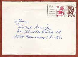 Brief, Unfallverhuetung, MS Post Damit Wir Uns Besser Verstehen Dueren, Nach Hannover 1977 (77627) - BRD