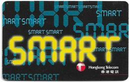 Hong Kong - HKT/C&W (Chip) - Smart Yellow, Exp. 31.12.1998, SC7, 100HK$, Used - Hongkong