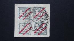 Spain - Spanish-Morocco - 1903 - Mi:ES-M 4VB, Sn:ES-MA 1a, Yt:ES-MA 1 O - Look Scan - Spanisch-Marokko