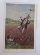 Märchen, Ludwig Bechstein, Der Hase Und Der Igel,  1925 , O. Herrfurth ♥ (64527) - Märchen, Sagen & Legenden