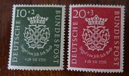 &43& GERMANY YVERT 7/8, MICHEL 121/122 FINE MH*. - [7] Federal Republic