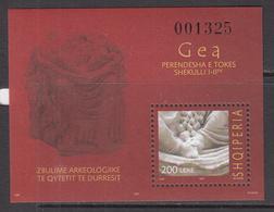 "2007 Albania Albanie Archaeology Gaia GEA  ""LIMITED EDITION""  MNH - Albania"