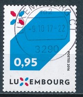°°° LUXEMBOURG - Y&T N°2049 - 2016 °°° - Usati