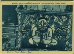 ETHIOPIA - AXUM - THE HELL / L'INFERNO - PITTURA ABISSINA - EDIZIONE CESARE CAPELLO 1939 (BG3972) - Ethiopië