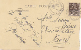 Convoyeur Raon Sur Plaine à Raon L'Etape,Vosges, Sur Cp De Pierre-Percée,Vosges,vue Générale,1931, 2 Scans - Postmark Collection (Covers)