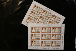 Dominica 676-677 Queen Mother 80th Birthday Sheets Of Nine MNH 1980 A04s - Dominica (1978-...)