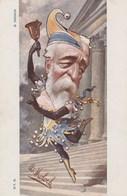 CPA Caricature Satirique Politique Henri BRISSON Lutin Fou Du Roi Illustrateur B. MOLOCH (2 Scans) - Personnages
