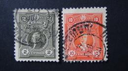 Peru - 1925 - Mi:PE 203A,206A - Yt:PE 209,212 O - Look Scan - Peru