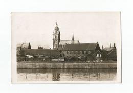 Hal - Le Canal Et L'Eglise.  Halle - De Vaart En De Kerk (1937). - Halle