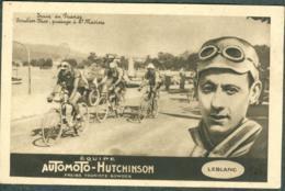 Tour De France 1924-25 LEBLANC équipe Automoto-Hutchinson Toulon-Nice - Cyclisme