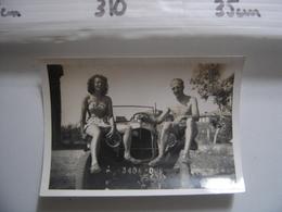 Photo COTE D'AZUR Aout 1947 AUTOMOBILE AUTO VOITURE CAR - Cars