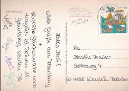 Germany & Marcofilia, Greetings From Flensburg, Warstein 1992 (2390) - Storia Postale