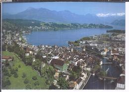 AK-3499-026  -  Luzern - Altstadt Mit Reuss Und Alpenpanorama - LU Lucerne