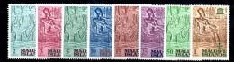 CI940 - MALDIVE MALDIVES 1965 , Yvert  N. 151/158 ***  MNH  . Nubia - Maldive (...-1965)