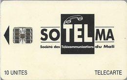 Mali - SoTelMa - Black Logo, 10U, Cn. C46145604, SC7, Used - Mali