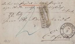 Preussen Paketbegleitbrief K2 Naumburg A.D.S. 11.8. Gel. Nach R2 Erfurt Ansehen !!!!!!!!!! - Preussen